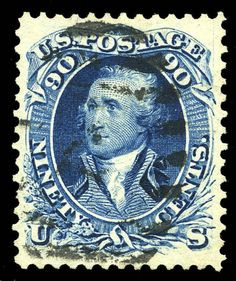 Blue 1861 Proof on Card Mint Old Stamps, Rare Stamps, Vintage Stamps, Postage Stamp Art, Going Postal, My Stamp, Stamp Collecting, Portrait, Coins
