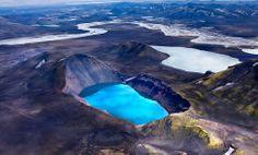 Cratera do vulcão Viti / Islândia