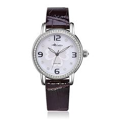 Rebela Womens Luxury Quartz Watch with White Dial and calfskin strap RLF2802L7A4 >>> Check out this great product.
