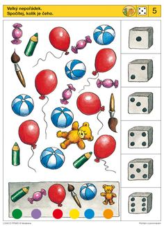 Piccolo: dobbelsteen kaart 5 Brain Activities, Activities For Kids, Teaching Kids, Kids Learning, Autism Games, Sequencing Cards, File Folder Activities, Logic Games, Literacy Skills