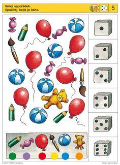 LOGICO PRIMO   Pro děti od 4 let   Počítání a porovnávání   Didaktické pomůcky a hračky - AMOSEK
