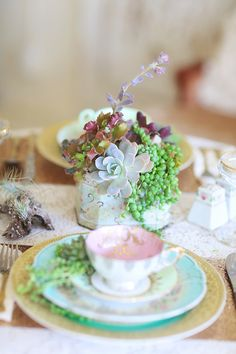 Vintage Succulent Wedding Inspiration
