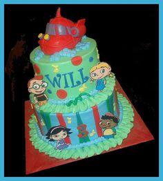 Little Einsteins cake for Will, via Flickr.
