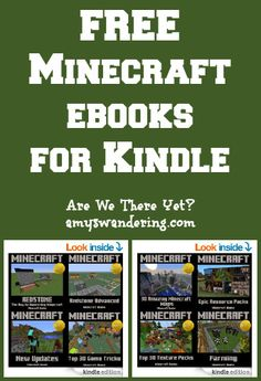 FREE Minecraft eBooks for Kindle