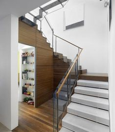 space saving ideas and modern storage solutions for staircase designs