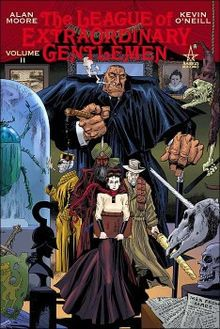 The League of Extraordinary Gentlemen  #graphic novel #popular culture