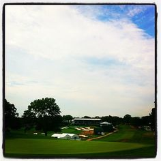 Bethpage State Park: a view of the Red Course #1 and Black Course #18