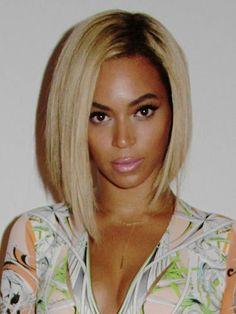 Beyonce's Blonde Asymmetrical Bob Hairstyle 2014 - 17 Irresistible Medium Bob Hairstyles for 2015 – Medium Hairstyles & Cuts