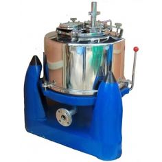Perforated Bowl Bag Centrifuge  Use this high capacity bag centrfiuge to collect particles that are 1 micron and larger!