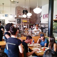 1.5 hour line was well worth the wait... #Brunch at Clinton St. Baking Co. #clintonstbakingco #labordayweekend #saturday