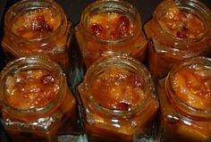 Traditional chutney recipes- one recipe is an apple chutney, the other is a green tomato chutney. Jam Recipes, Canning Recipes, Apple Recipes, Curry Recipes, Sauce Salsa, Relish Sauce, Chutneys, Comida India, Tomato Chutney