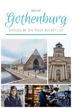 Why Gothenburg Should Be On Your Bucket List! #travel #sweden