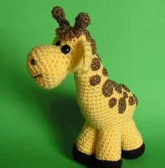 PDF CROCHET PATTERN Pudgy Giraffe by bvoe668 on Etsy
