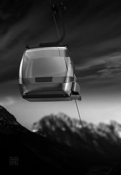 Einseilumlaufkabine C10 für carvatech  www.natdesign.at  #cablecar #funivie #transportationdesign #natdesign