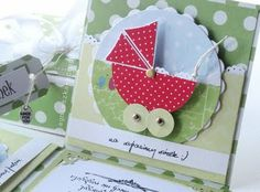 Baby Card idea--this site has some gorgeous cards--could use ideas for DIY