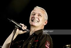 Danny Bowes of Thunder performs onstage during the Monsters Of Rock festival, a revival of the hard rock festival which first took place in 1980, at Milton Keynes Bowl June 3, 2006 in Milton Keynes, England.