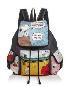 LeSportsac Peanuts Snoopy Voyager Backpack | Bloomingdale's