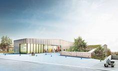 Cultural Center of Saint-Germain-lès-Arpagon / O-S Architects