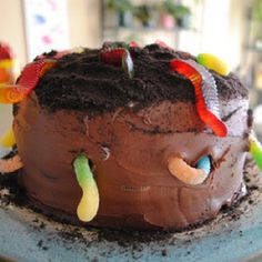 Dirt cake, Flower pots and A flower on Pinterest