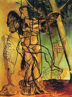 "surrealism: "" Psi by Francis Picabia, "" Tristan Tzara, Andre Derain, Magritte, Max Ernst, Henri Matisse, Francis Picabia, Paul Gauguin, Art Database, Art Studies"