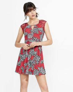 I also like this fit...not necessarily the print.