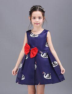 Vestido Chica dePoliéster-Verano-Azul 4920066 2016 – $14.99