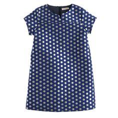 Polka-Dot Shift Dress