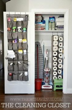 How to organize your home!