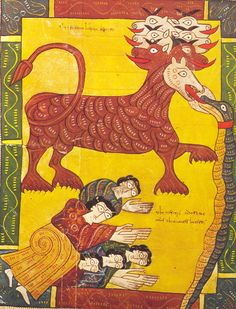 """The Escorial Beatus is a 10th century illuminated manuscript of the Commentary on the Apocalypse by Beatus of Liébana"""""""