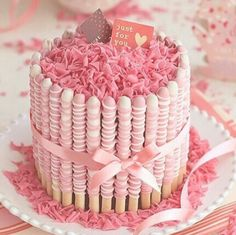 Alternative to the smarties and kit Kat cake
