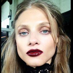 #bts #beautyarchive #annaselezneva makeup @lotstar hair @ramsell #beauty #bloodredlips
