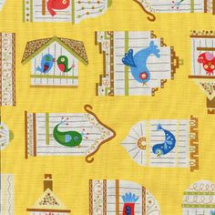 This have a fun, vintage feel to it!~ Linda Solovic - How Tweet It Is - Tweet Songs in Yellow
