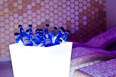 Frappera Luminosa ideal para que los invitados se sirvan solos su bebida frozzen..