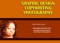 Authors, performers & filmmakers>> graphic design just 4 u!