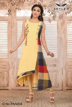 Photos on the wall of Tatyana Salwar Neck Designs, New Kurti Designs, Kurta Neck Design, Dress Neck Designs, Kurta Designs Women, Designs For Dresses, Pakistani Dresses Casual, Indian Gowns Dresses, Indian Designer Outfits