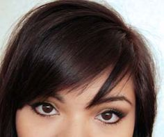 Get banged: How to cut your own side swept bangs   Nina Rachel