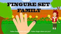 Finger Family Song of Family Set || Finger Family Nursery Rhymes for Kids