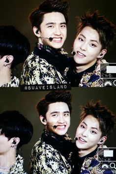 D.O and Xiumin ~ aww♥