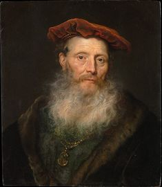 Govert Flinck (Dutch, 1615–1660). Bearded Man with a Velvet Cap, 1645. The Metropolitan Museum of Art, New York. Bequest of Collis P. Huntington, 1900 (25.110.27)