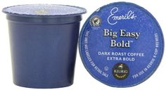 Emeril's Big Easy Bold K-Cup Packs for Keurig K-Cup Brewers, 50 Count - http://www.kitchendiningstuff.com/emerils-big-easy-bold-k-cup-packs-for-keurig-k-cup-brewers-50-count/