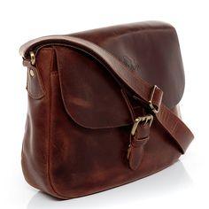 Amazon.com: SID & VAIN small shoulder bag - woman handbag YALE | hobo cross-body bag women´s bag brown-cognac leather | PREMIUM-QUALITY: Shoes