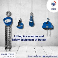 Dutest Industrial EST. is one of the largest crane and lifting equipment manufacturers in UAE. Our products include multiple lifting equipments such as webbing slings, wire rope slings, lifting gears which can be used in a wide range of material handling industries.