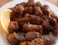 Υπέροχος μεζές!! Cypriot Food, Greek Beauty, Appetisers, Antipasto, Greek Recipes, Chorizo, Entrees, Meat, Chicken