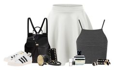 """""""One Item Tag"""" by sapphiremoonlight ❤ liked on Polyvore featuring LE3NO, Topshop, Dolce&Gabbana, adidas Originals, Valentino, Frends, Accessorize, River Island, Wet Seal and Marc Jacobs"""