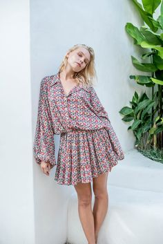 La Confection Inka - Dress in Fleur Floral Print