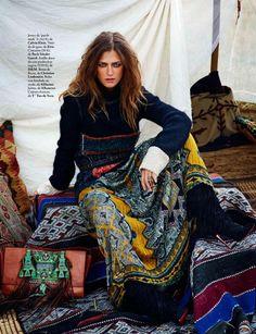 Marlena Szoka por Pascal Chevalier para Elle Espanha Novembro 2014 [Editorial]