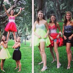 Homecoming pic idea, without the tumbling                                                                                                                                                     More