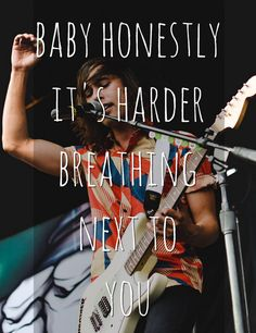 Caraphernelia - Pierce The Veil  Its harder breathing next to you