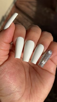 beautiful acrylic coffin nails designs ideas you need to copy immediately 18 ~ thereds. Acrylic Nails Coffin Glitter, Summer Acrylic Nails, Best Acrylic Nails, Acrylic Nail Designs, Coffin Nails, Stiletto Nails, Spring Nails, Matte Pink Nails, White Nails