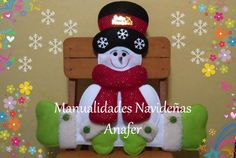 Crafts To Make And Sell, Snowman Crafts, Christmas Projects, Gingerbread, Projects To Try, Snoopy, Christmas Ornaments, Holiday Decor, Home Decor